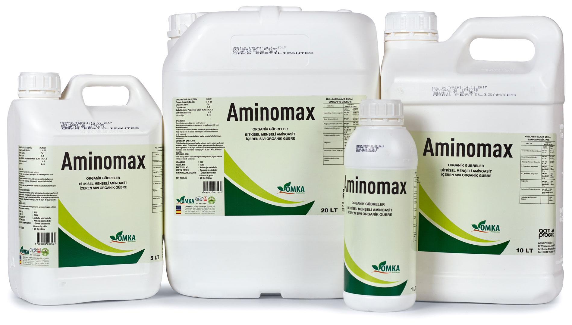 aminomax organik gbbre